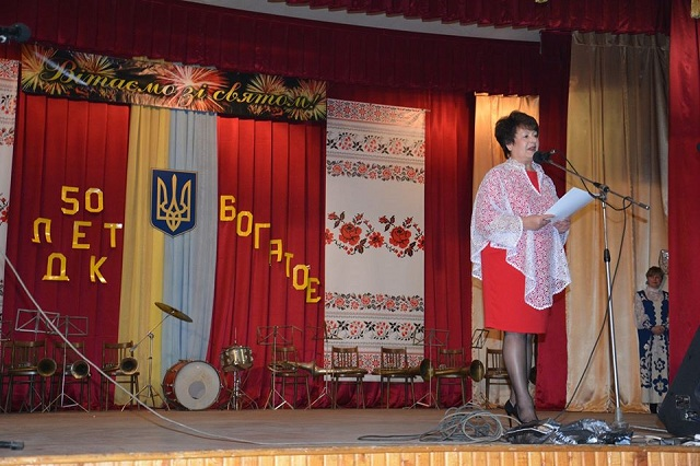 Мария Бабенко, Марія Бабенко, голова села Богатое, голова села Богате